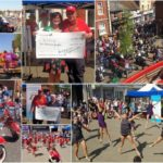 compilation of pictures from the Leighton Buzzard May Fayre